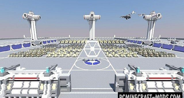 Star Wars Vehicle Collection - Arts Map Minecraft