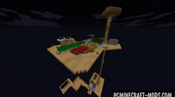 Skyblock Reloaded - Survival Map For Minecraft