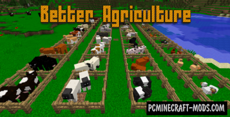 Better Agriculture Mod For Minecraft 1.12.2, 1.11, 1.10.2, 1.9.4