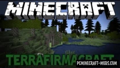 TerraFirmaCraft - New Biome Mod For Minecraft 1.12.2
