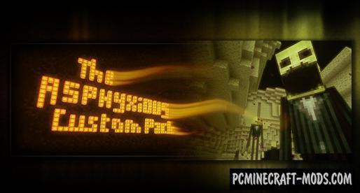 The Asphyxious Horror 16x Resource Pack MC 1.17, 1.16.5