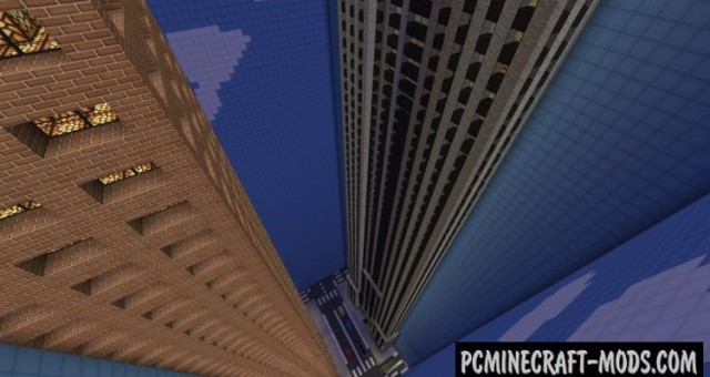 The Dropper - Parkour Map For Minecraft