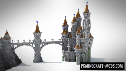 The Lonely Castle Map For Minecraft