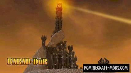 Barad-Dur Map For Minecraft