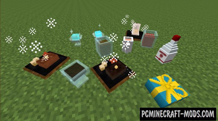 Apple Milk Tea Mod For Minecraft 1.7.10