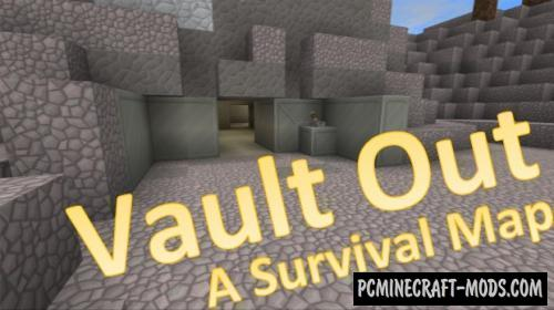Vault Out Map For Minecraft