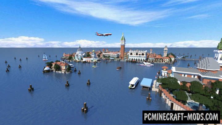 Venice City Map For Minecraft