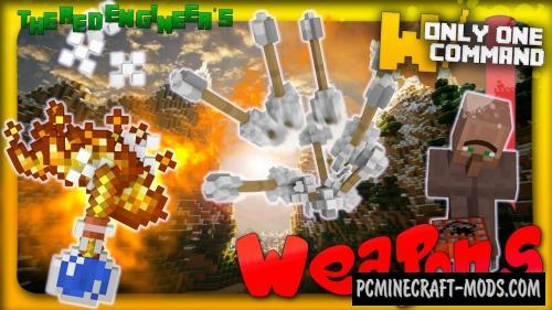 Warfare Weapons Command Block For Minecraft 1.8.9