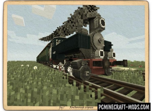 Rails of War - Mech Mod For Minecraft 1.12.2, 1.7.10, 1.6.4