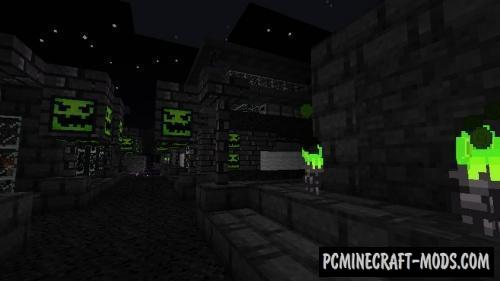 Nightmare Before Christmas 16x Texture Pack For Minecraft