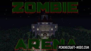 Zombie Arena - PvE, Survival Map For Minecraft