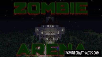 Zombie Arena Map For Minecraft