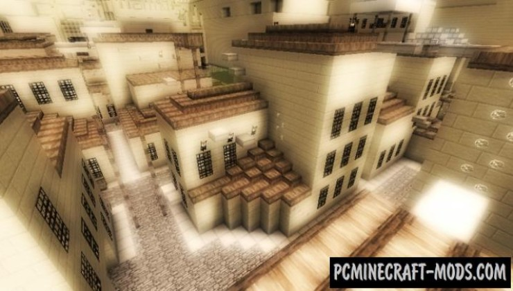 Assassin's Creep - Parkour Map For Minecraft
