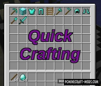 Quick Crafting - Tool Block Mod For Minecraft 1.8.9, 1.7.10