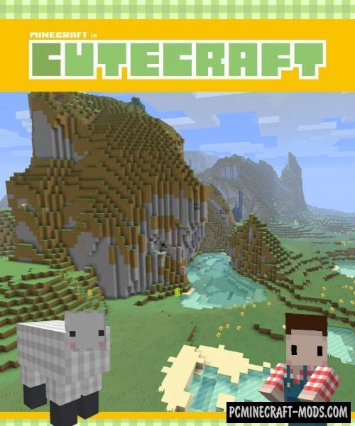 Cute Craft 16x Resource Pack For Minecraft 1.8.9