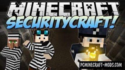 SecurityCraft Mod For Minecraft 1.12.2, 1.11.2, 1.10.2, 1.7.10