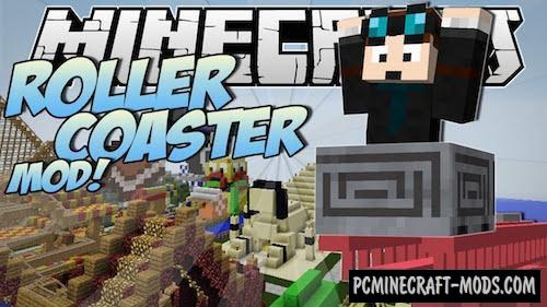 ExRollerCoaster Mod For Minecraft 1.7.10