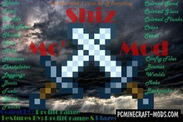 Mo' Shiz Mod For Minecraft 1.12.2, 1.11.2, 1.8.9, 1.7.10