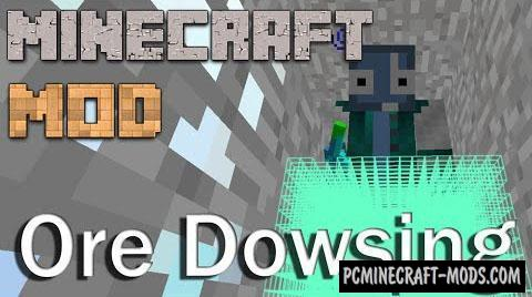 Ore Dowsing Mod For Minecraft 1.11.2, 1.8, 1.7.10