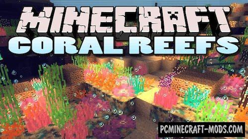 Coral Reef Mod For Minecraft 1.7.10, 1.6.4