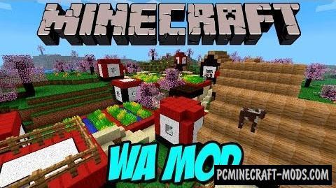 WA Japan - Decoration Mod For Minecraft 1.7.10