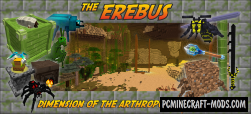 The Erebus - Dimension Mod For Minecraft 1.12.2