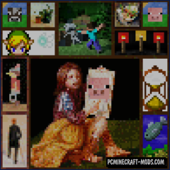 Paintings ++ Mod For Minecraft 1.12.2, 1.11.2, 1.10.2