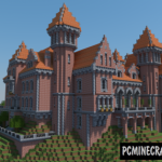 Castle of Venthobri Map For Minecraft