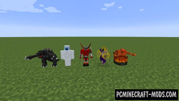 Mob Statues Mod For Minecraft 1.7.10
