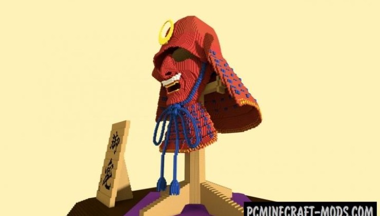 Samurai Helmet Map For Minecraft