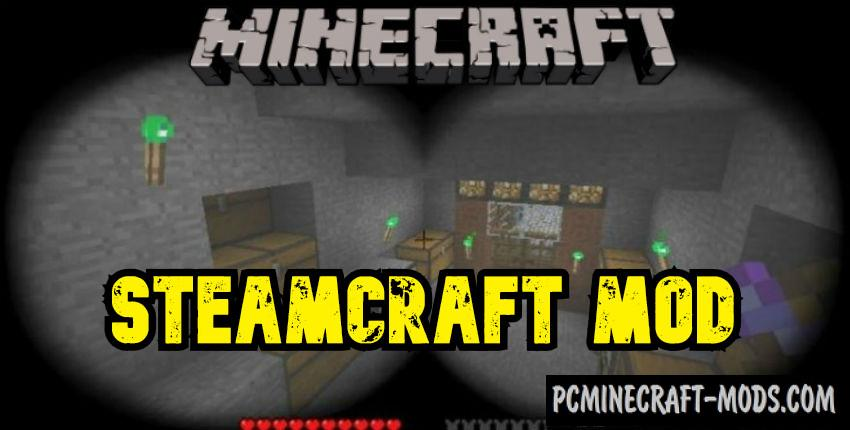 Steamcraft - Blocks Mod For Minecraft 1.7.10