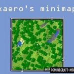 Xaero's World Map Mod For Minecraft 1.12.2, 1.11.2, 1.10.2, 1.9.4