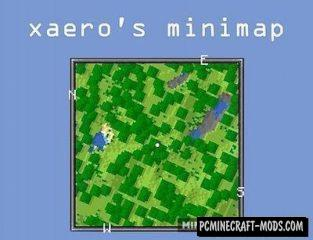 Xaero's Minimap Mod For Minecraft 1.16.5, 1.16.4, 1.12.2