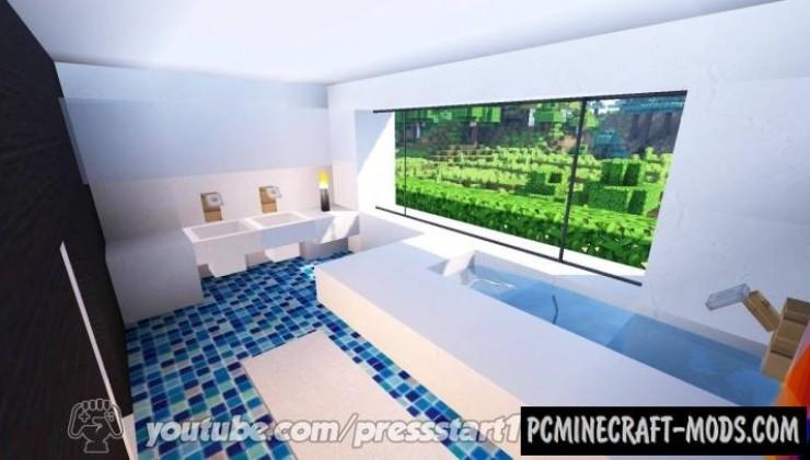 Modern Villa - House Map For Minecraft