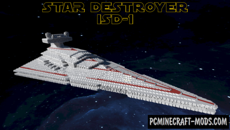Star Destroyer Map For Minecraft 1 15 1 14 4 Pc Java Mods