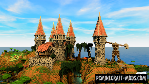 Factions Castle Spawn Map For Minecraft 1 15 1 14 4 Pc