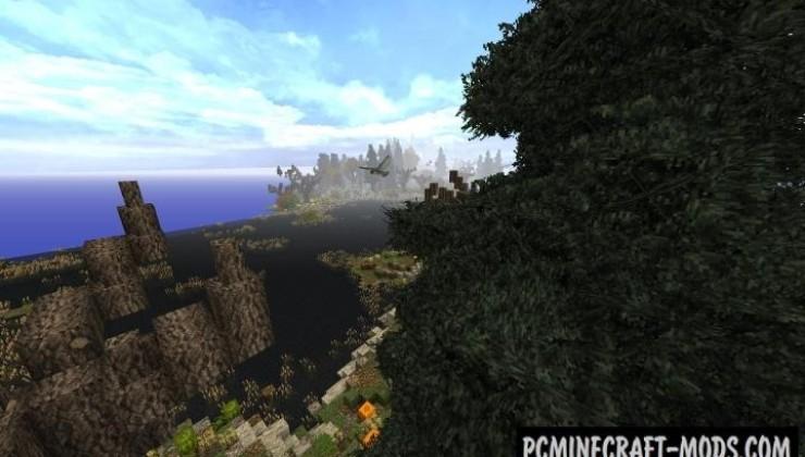 Fall's End - Custom Terrain Map For Minecraft