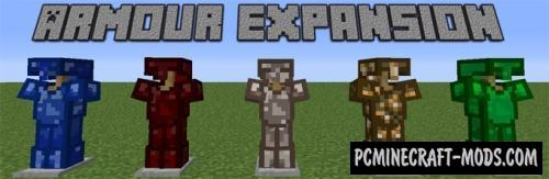 Armour Expansion Mod For Minecraft 1.8
