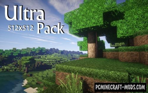 UltraPack 512x Realistic Resource Pack For Minecraft 1.8.9
