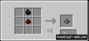 Gunpowder Recipe - Surv Tweak Mod For Minecraft 1.7.10