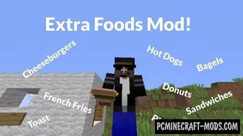 Extra Food Mod For Minecraft 1.8