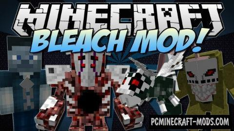 Bleach Mod For Minecraft 1.7.10, 1.7.2