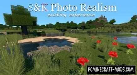 S&K Photo Realism Resource Pack For Minecraft 1.8.9, 1.8, 1.7.10