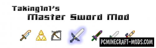 Master Sword - Adventure, Weapons Mod Minecraft 1.7.10