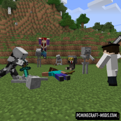 Model Trains Mod For Minecraft 1 12 2, 1 10 2 | PC Java Mods