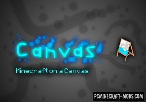 Canvas 128x, 64x Resource Pack For Minecraft 1.8.9