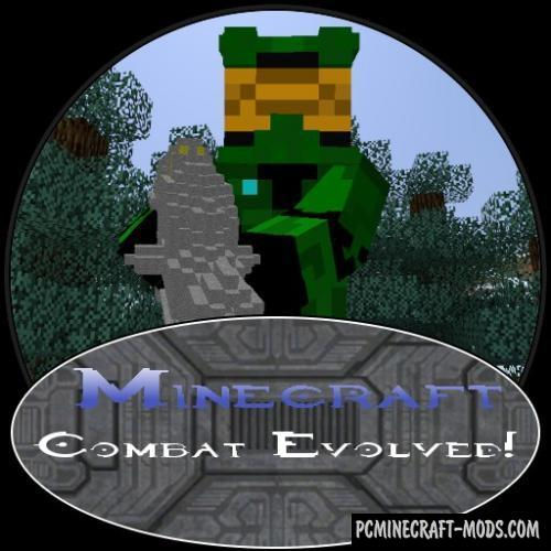 Combat Evolved: Halo - Guns, Armor Mod Minecraft 1.7.10