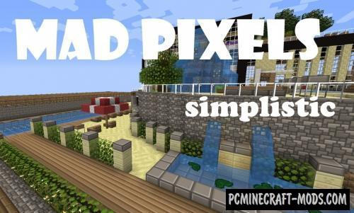 Mad Pixels Resource Pack For Minecraft 1.10.2, 1.9.4, 1.8.9, 1.7.10