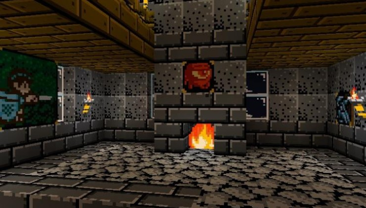 RetroNES 16x Texture Pack For Minecraft/MCPE 1.17, 1.16.4