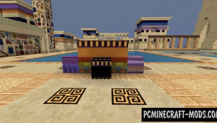 Ancient Egypt Resource Pack For Minecraft 1.8.9, 1.8, 1.7.2